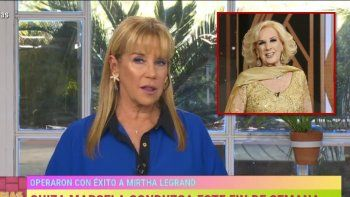 Marcela Tinayre relató cómo fue el proceso de internación hasta que se decidió operar a Mirtha Legrand: Nos asustamos