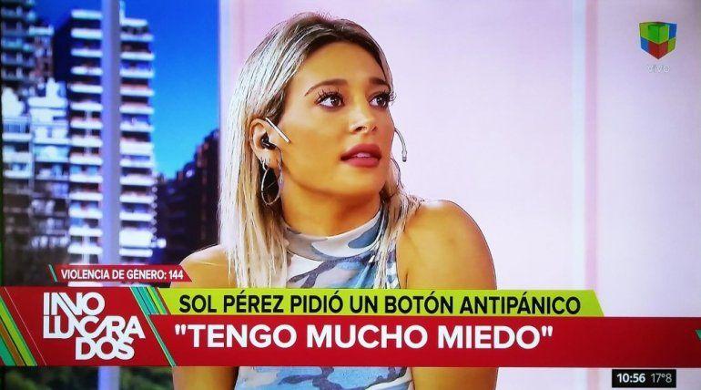 Sol Pérez, acosada por un desconocido: Me bajé el botón antipánico al celular; me sigue y me agarra