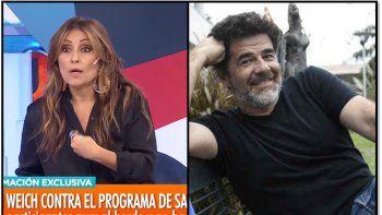 Marcela Tauro criticó las declaraciones de Julián Weich: Es un envidioso y nadie de sus compañeros lo querían