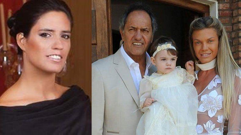 El ataque de ira de Lorena, la hija de Daniel Scioli, con él y con Gisela Berger: El padre me miente y la gran madre me bloquea