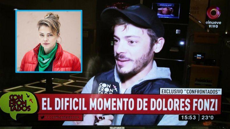 Tomás Fonzi habló de la salud de su hermana, Dolores: Con esto todo cambia para bien