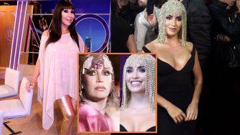 moria casan cruzo a lali esposito por el look de la cantante: ojo que los cascos no aplasten neuronas