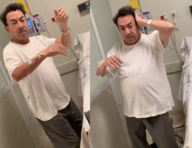Combativo: Pachano subió un video bailando Despacito mientras se hace quimioterapia