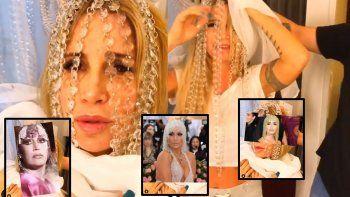 el divertido video de flor pena riendose de la guerra de la peluca de moria y lali