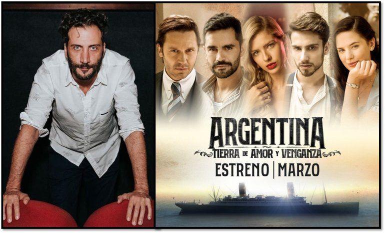 ¿Quién es el famoso actor que se incorpora a Argentina, Tierra de amor y venganza?