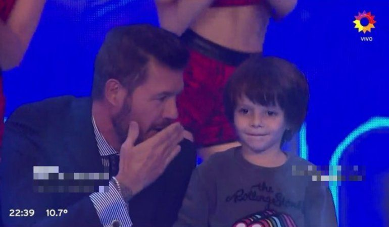 Lorenzo Tinelli conoció la fama: apareció por primera vez en TV
