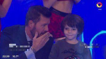 Lorenzo Tinelli conoció la fama: anoche apareció por primera vez en TV