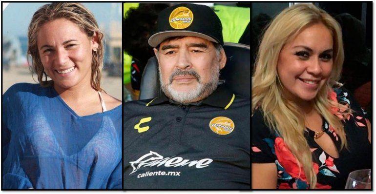 Rocío Oliva se refirió a la versión de que Verónica Ojeda quiere tener otro hijo con Maradona: Si es así, esta mujer está loca