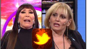 Moria Casán no habló en Incorrectas de su enfrentamiento con Romina Manguel