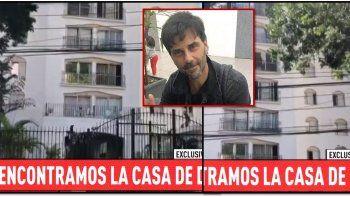 Juan Darthés se refugia en este departamento de un exclusivo barrio de San Pablo