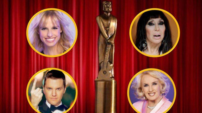 ¿Quiénes son las grandes figuras que no estarán presentes en la entrega de los premios Martín Fierro?