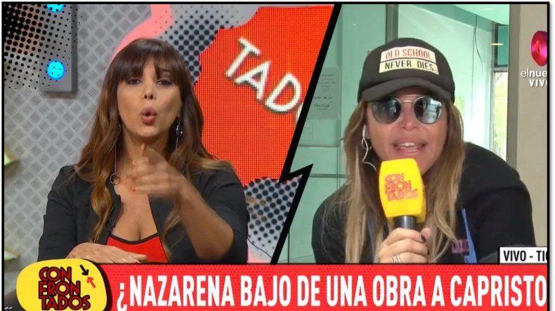 Escándalo entre Ximena Capristo y Nazarena Vélez, se hicieron viejos reclamos: Me acusaste de robarte ropa en un desfile