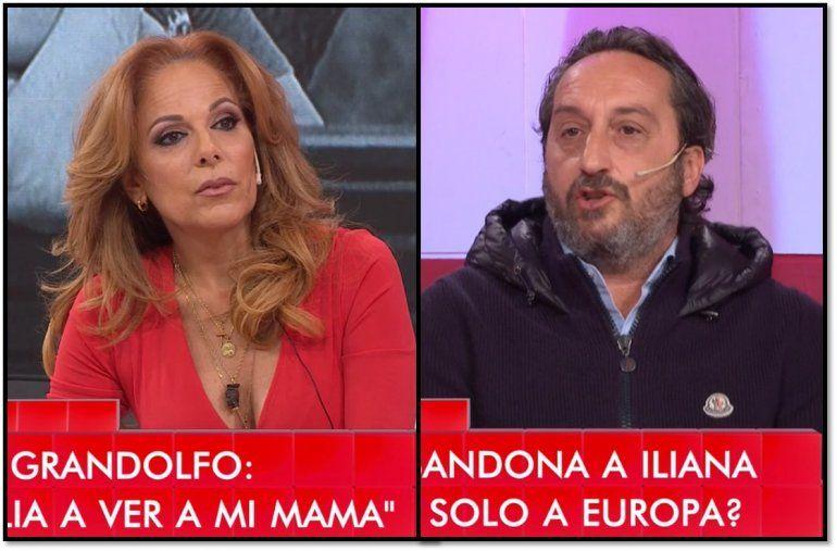 Iliana Calabró y Antonello desmienten crisis, pero pospusieron el casamiento y siguen las dudas