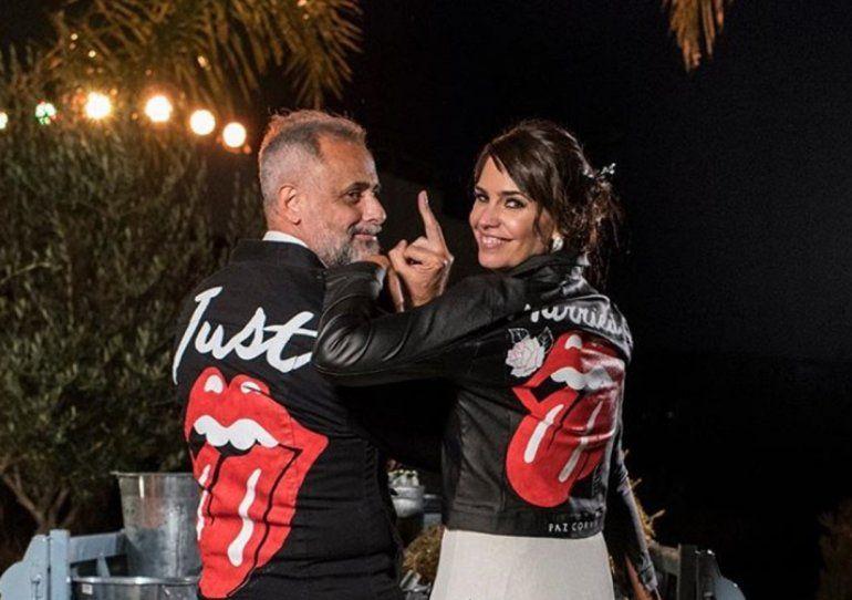 Jorge Rial y Romina Pereiro, de luna de miel: primeras fotos y videos del viaje