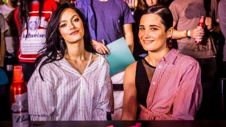 Oriana Sabatini y Flor Torrente, unidas por el fútbol