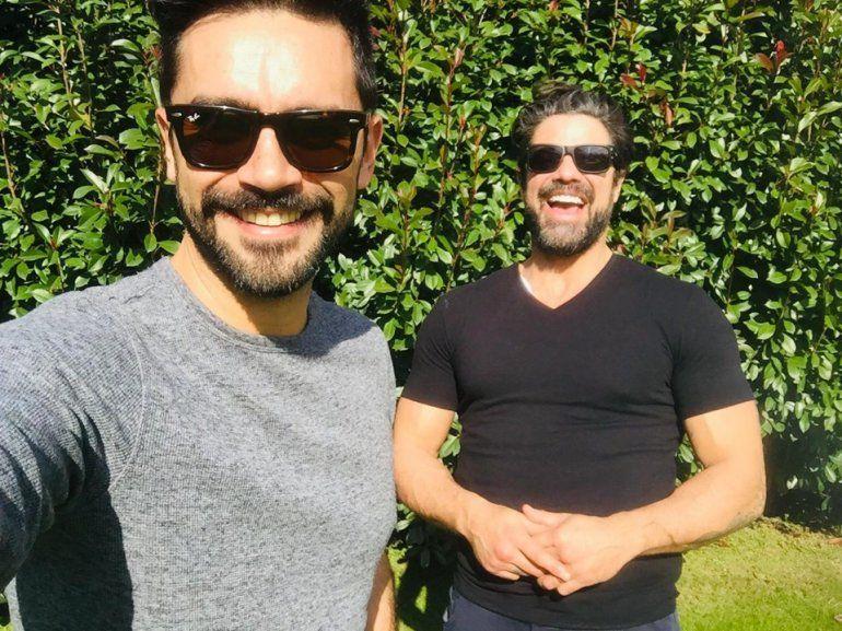 Luciano Castro y Gonzalo Heredia, la dupla teatral del verano 2020