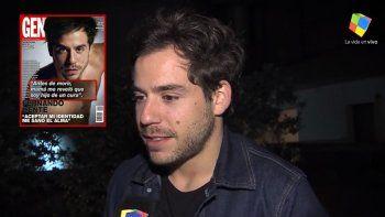 Fernando Dente habló de la nota en donde confesó que es hijo de un cura: No hay un morbo