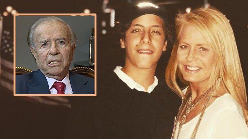 Nuevo escándalo en la familia Menem: Bolocco se radicó en Miami con su hijo sin avisarle al padre