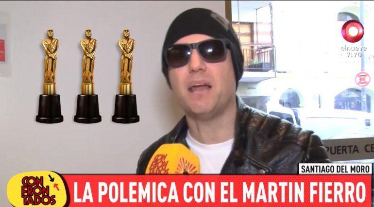 Santiago del Moro confirmó que no irá a la ceremonia de los premios Martín Fierro: sentí que no tenía que ir, es como ir de colado
