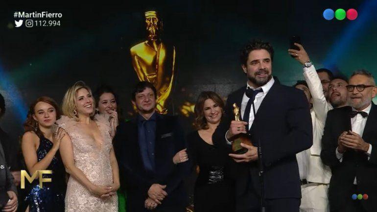 100 días para enamorarse se llevó el Martín Fierro de Oro, y toda la lista completa de los ganadores