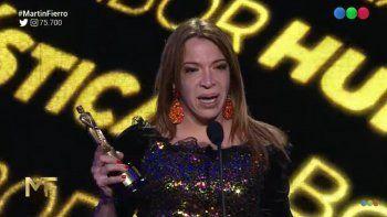 El emotivo discurso de Lizy Tagliani: Los pobres no somos brutos
