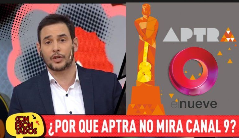 Rodrigo Lussich se descargó contra los Martín Fierro: ¿Aptra no se acuerda que existe El Nueve?