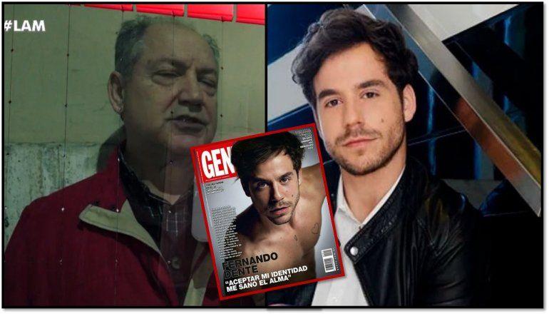 Habló el padre biológico de Fernando Dente: Él tiene una versión del encuentro entre él y yo, y yo no me reconozco en ese personaje