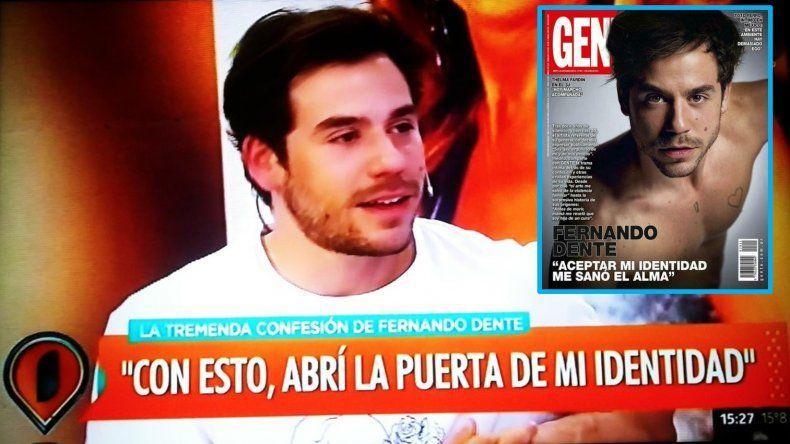Fernando Dente redobla la apuesta: Tenía necesidad de contar mi historia de vida; lo que pase después, me excede