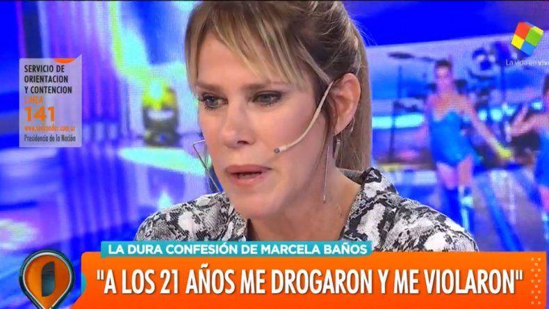 Tremendo relato de Marcela Baños: Me drogaban, caía dormida y una vez me desperté y tenía una persona encima de mí