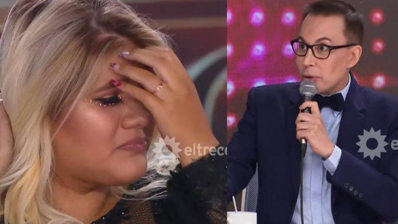 Morena Rial debutó en Showmatch y se quebró con las emotivas palabras de Polino: Sos una niña que ha sufrido mucho bulllying