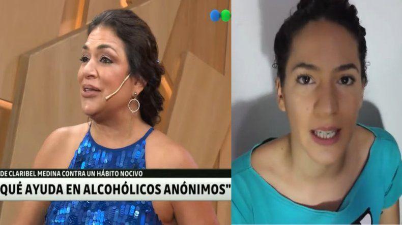 Emotiva defensa de la hija de Claribel Medina, luego de contar su lucha contra el alcohol: Encontré violencia y rechazo; ni una palabra de aliento