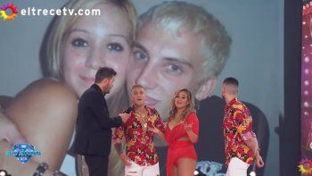 volver con el ex: sorpresivo encuentro de karina la princesita y el polaco, luego de anos de escandalo; baile y duo a capella