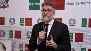 Luis Novaresio fue nombrado Cavaliere de Italia