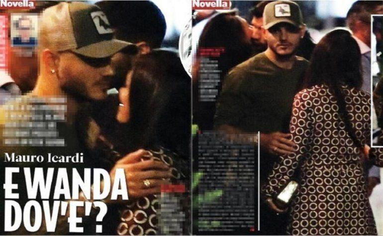 Les arruinaron el viaje: en plena luna de miel, salieron fotos de una supuesta infidelidad de Mauro Icardi a Wanda Nara