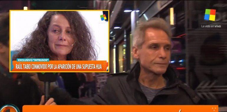 La furia de Raúl Taibo cuando le preguntaron por su supuesta hija