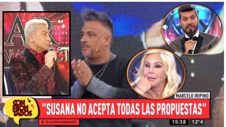 Marcelo Iripino, a la carga contra Flavio Mendoza: Me parece tremendo que esté con Susana y con Tinelli al mismo tiempo