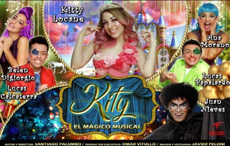 Kity, el musical infantil que llega a la calle Corrientes