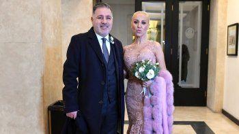 El casamiento casi secreto de Fabián Doman y María Laura de Lillo