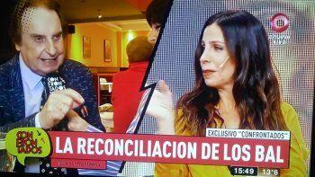 La extraña reconciliación de Julieta y Santiago Bal en terapia: Se asustó y me preguntó quién era