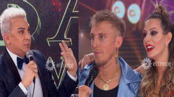 Punto bizarro: Flavio Mendoza le subió puntaje al Polaco y a Noelia Marzol por el bulto del cantante