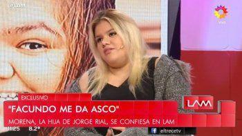 Morena Rial habló de todo: su separación