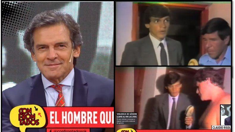 Claudio Rígoli, 30 años después del caso Monzón: hizo la primera cobertura y ahora aparece en la serie