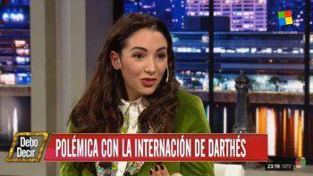 Thelma Fardin habló de la internación de Juan Darthés: Es una estrategia para ponerlo como víctima; ojalá no tome una decisión terrible