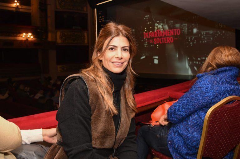 Juliana Awada fue a ver a Laurita, Cabré y Seefeld al teatro