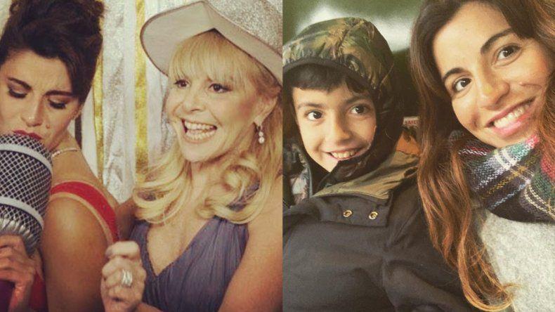 La angustia de Gianinna Maradona por problemas con su hijo Benjamín, y su reconocimiento a Claudia