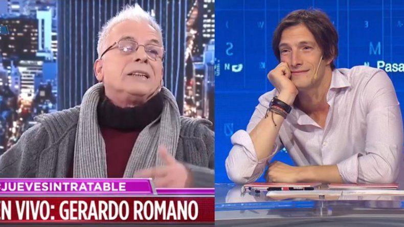 Gerardo Romano se desbandó contra el programa Pasapalabra y la productora de Iván de Pineda lo destrozó: No somos pelotud...