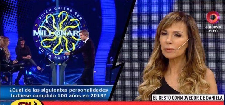 Raro: La cantante Daniela jugó en Quién quiere ser millonario pero nunca se anotó