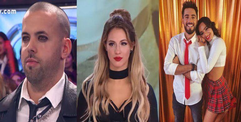 El juego de a 4: Flor Vigna, entre Occhiato y Mati Napp, y peleada de su ¿ex? amiga, Flor Peña