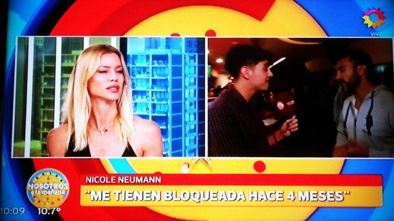Sin freno ni mediaciones, la guerra entre Nicole Neumann y Fabián Cubero continúa: Me castiga, me tiene bloqueada hace 4 meses