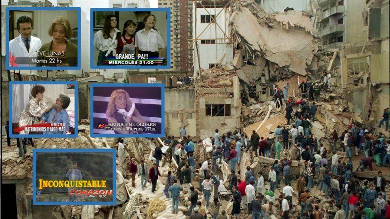 A 25 años del atentado a la AMIA, la televisión y la radio realizan la emotiva campaña Seguimos en el 94 en reclamo de justicia
